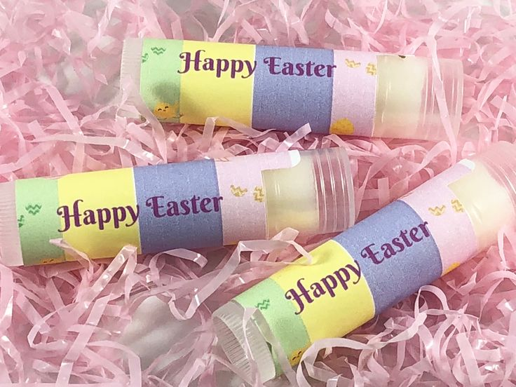 My Mango based lip balm is the perfect gift for anyone who likes soft kissable lips and with my themed labels for the holidays they are also extra cute. Make great fillers for an Easter basket.