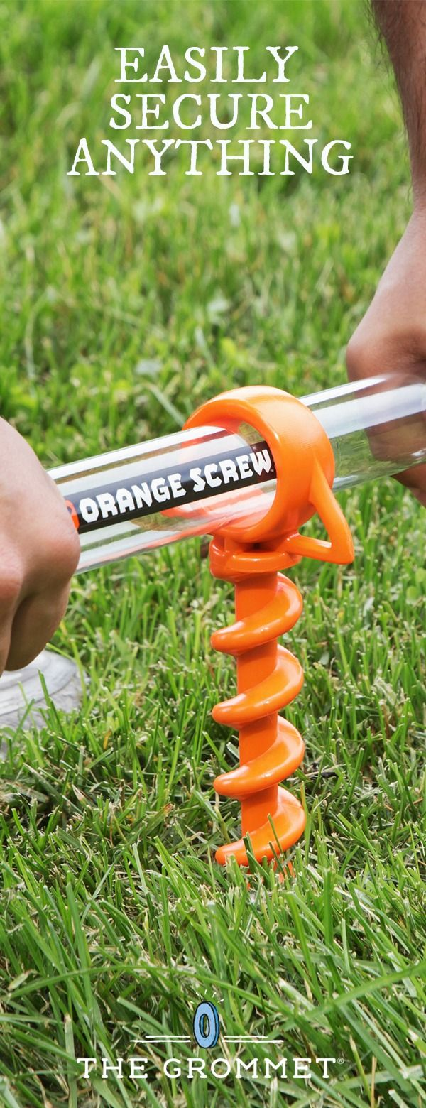 This mighty little screw can anchor tents, tarps, and other lines. It's Made in the USA from recycled materials to handle tough jobs. Great addition to your camping gear.