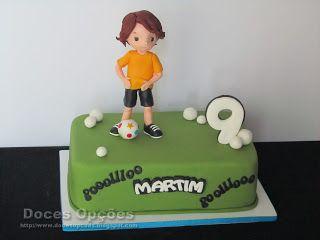 Doces Opções: Bolo para o 9º aniversário do Martim