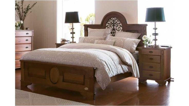 Cambridge Queen Bed - Beds & Suites - Bedroom - Beds & Manchester | Harvey Norman Australia