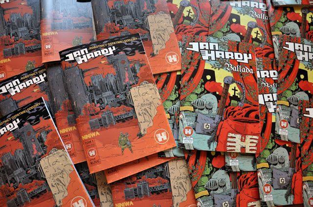 Jakub Kijuc - komiks, ilustracja: Jan Hardy - Niniwa