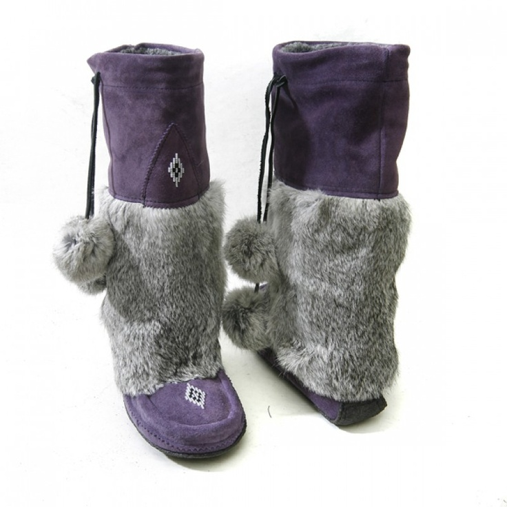 Manitobah 'Mukluk' Boot (Purple) I can never find these, but when I do they are mine!