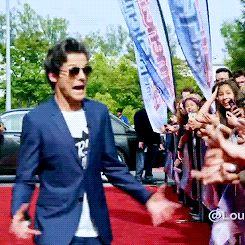 WHAT ARE WE SO EXCITED ABOUTTTT!!! That's probably what Louis is thinking and then thinking oh wait I'm famous I forgot