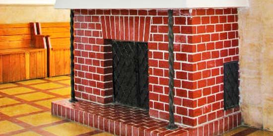 How to go About Cleaning Interior Fireplace Brick.