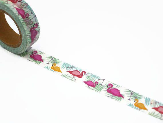 Flamingo Washi Tape from Unwrap Colour