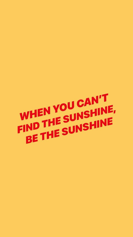 Sunshine Quotes Inspirational And Motivational Quotes :be the sunshine quote  Sunshine Quotes