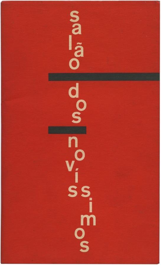 Salão dos Novíssimos, catálogo, SNI, design Sebastião Rodrigues, 1959