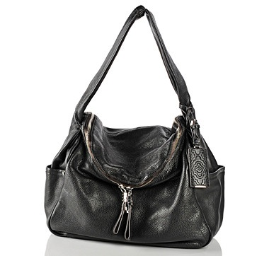 orYANY Holly Double Pouch Hobo - BLACK  #ilovetoshop