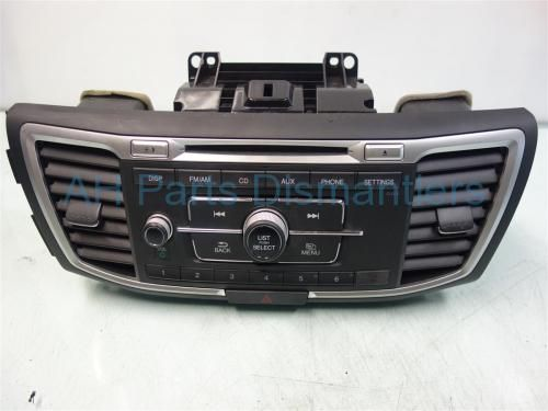 Used 2014 Honda Accord AM/FM/6 DISC CD & RADIO  39170-T2A-A22 39170T2AA22 39171-T2A-A22 39171T2AA22. Purchase from https://ahparts.com/buy-used/2014-Honda-Accord-AM-FM-6-DISC-CD-RADIO-39170-T2A-A22-39170T2AA22/111112-1?utm_source=pinterest