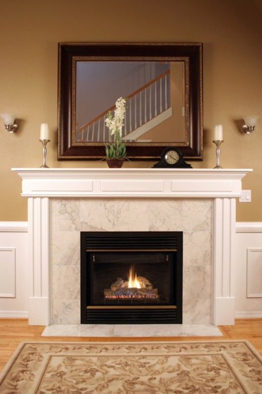 71 best Mantels images on Pinterest | Fireplace ideas, Fireplace ...