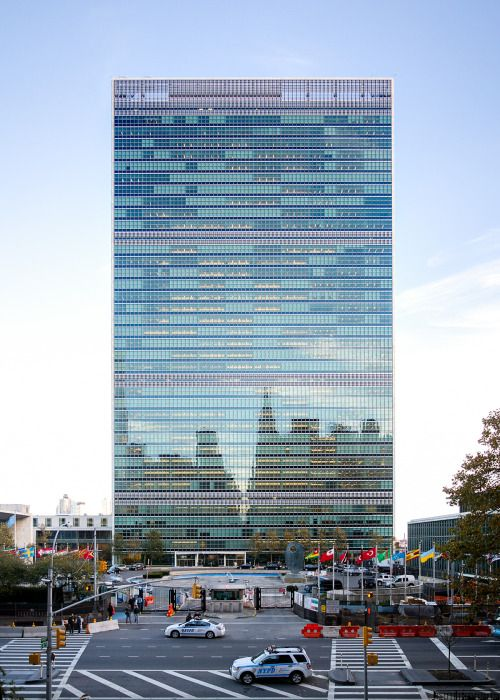 NYC. United Nations building in Manhattan // by Pavel Bendov