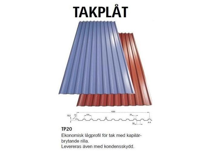 Dala-Profil TP20. Kvalitetsplåt från Dala-Profil!  Se mer av våra produkter på Plåtgrossisten.se