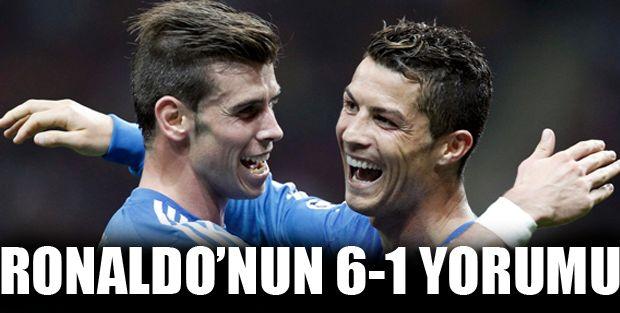 Ronaldo'dan 6-1 açıklaması