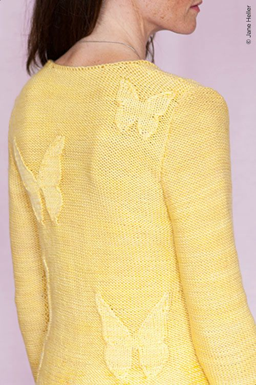 Butterfly sweater, maybe for Tracie?