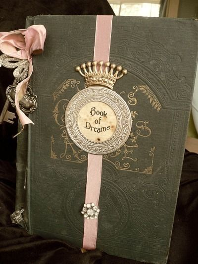 ♥: Old Book, Ideas, Journals, Dreams, Book Worth, New Baby, Altered Book, Fairytale, Fairies Tales