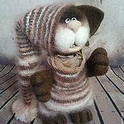 Купить или заказать Котята войлочные Иня и Яня в интернет-магазине на Ярмарке Мастеров. Маленькие, забавные котята. Гипоалергенные! Не прожорливые. Не хулиганы. Пушистые. Милые и тискальные.... Выполнены в технике сухого валяния.