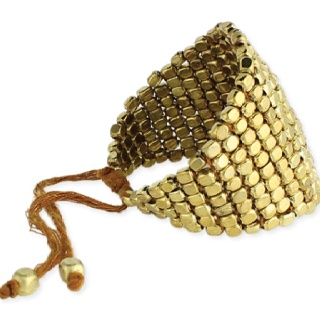 Gold cobra cuff, available Fall 2012