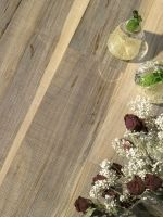 Woven Walnut weave working white GOLD Dust. Noce tessuta in Polvere Oro Bianco.@cadoringroup floor decor
