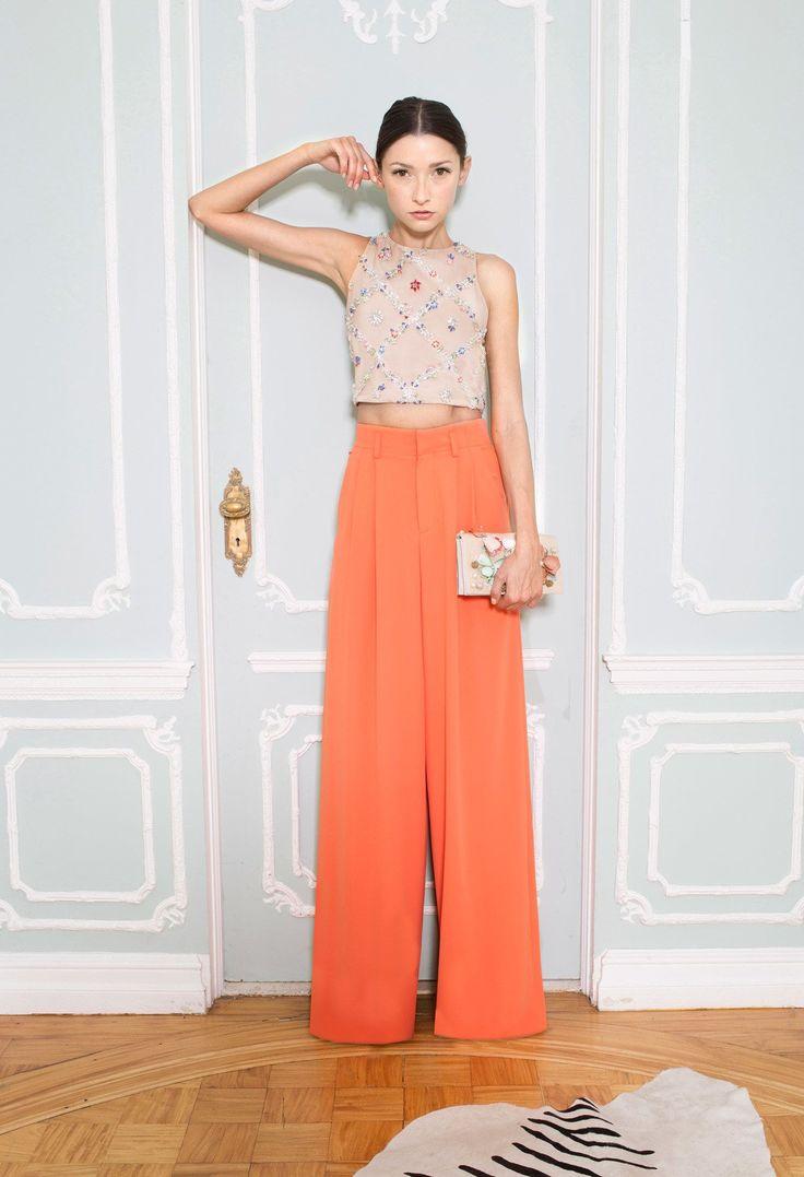 サラッと着こなしたい。素敵な40代の着こなし術♡アラフォー ジョーゼットスカーチョおすすめコーデ術です。