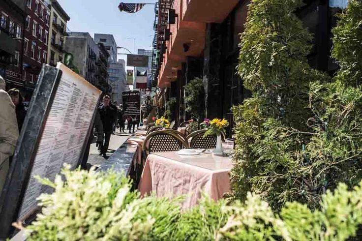 Piccola table setting Italia NYC