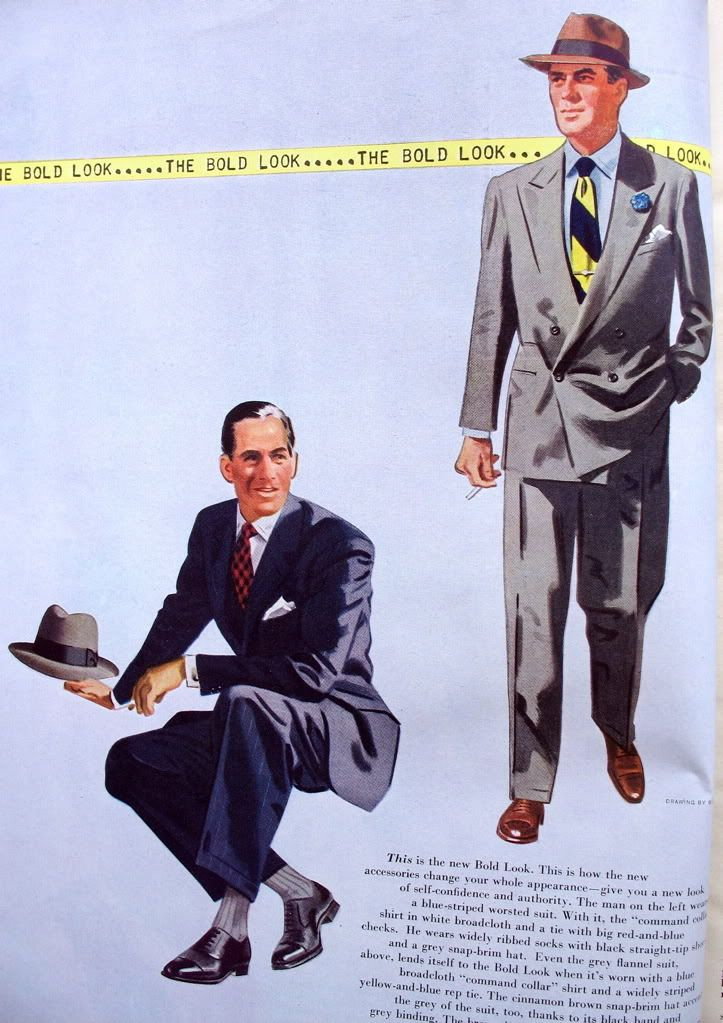 1950 Style Suits