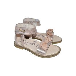 $177.00. Sandals with Crystal Embellished Bow from Angelibebe