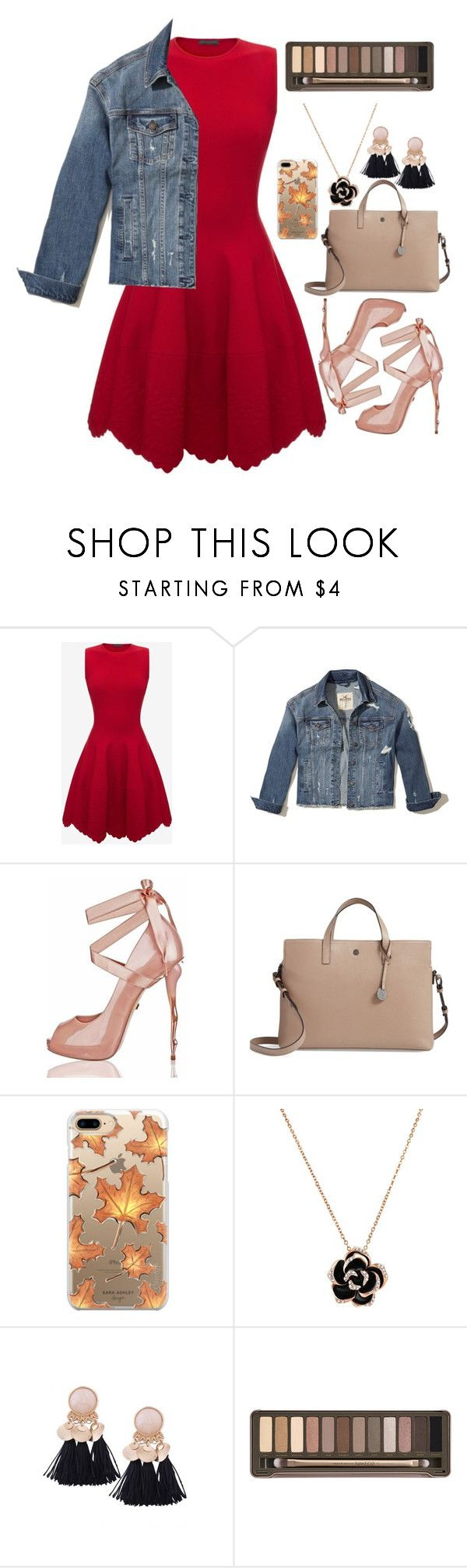 """""""Or we will run away to another galaxy"""" by sarah-rose-312205 on Polyvore featuring Alexander McQueen, Hollister Co., Lodis, Casetify and Urban Decay"""