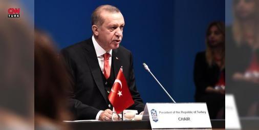 Erdoğan'dan Ermeni temsilciye sert tepki: Karadeniz Ekonomik İşbirliği Teşkilatı 25. Kuruluş Yıldönümü Zirvesi oturumuna başkanlık eden Cumhurbaşkanı Erdoğan, Ermeni temsilcinin konuşmasına tepki gösterdi.  Siz konuşmanızın tamamını siyasi değerlendirmeye ayırdınız  dedi