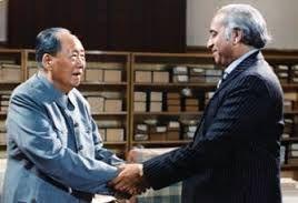Mao Zedong with Zulfikar Ali Bhutto, 1974.