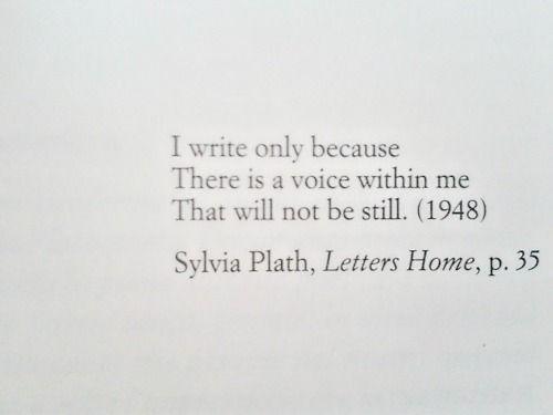 SylviaQuotes Inspiration, Art Journals, Sylvia Plath, Beautiful, My Life, Book, Writing, Writers, Weheartitcom