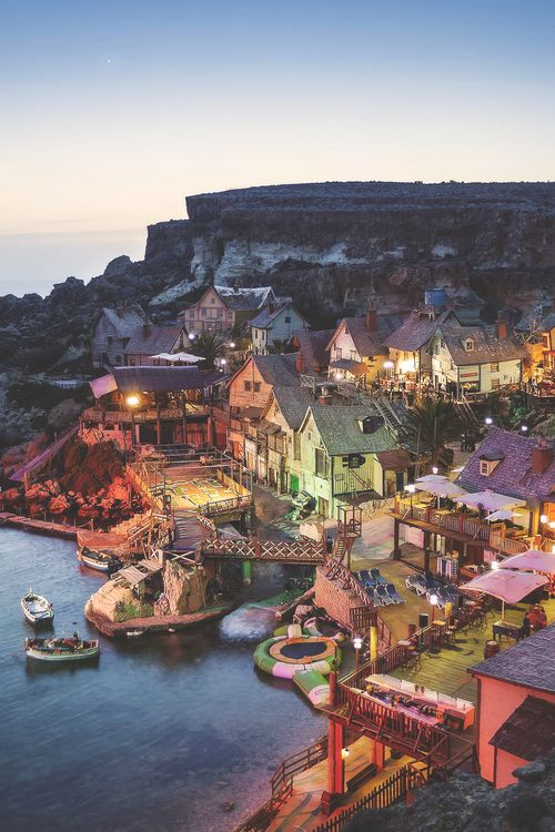 Popeye Village, Malta - I have almost the exact same photo! THE BEST TRAVEL PHOTOS