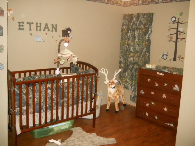 our sons hunting camo themed bedroom baby pinterest