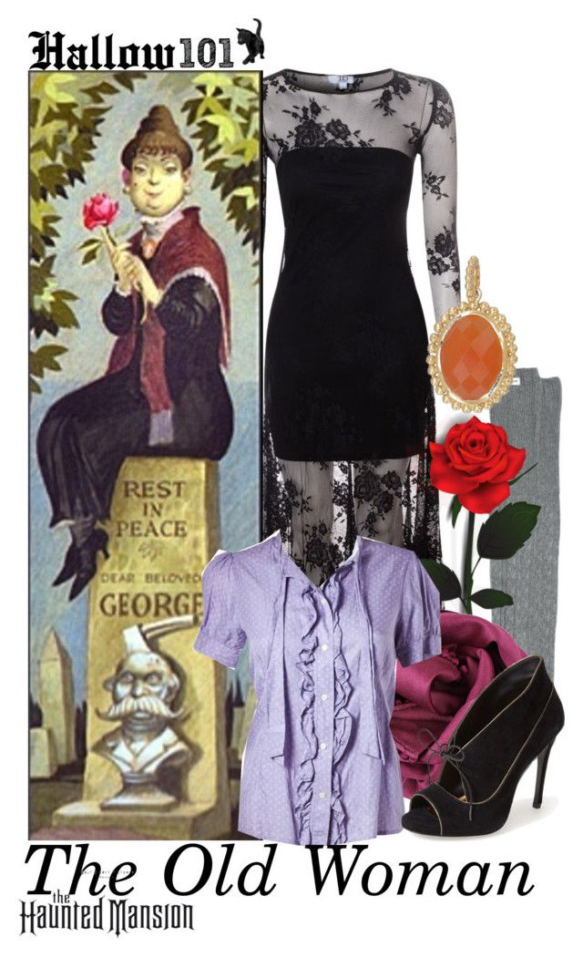 """DM nerds; Halloween Costume"" by aksmasads ❤ liked on Polyvore featuring RVCA, True Decadence, QVC, Bajra, Marc by Marc Jacobs and Pour La Victoire"
