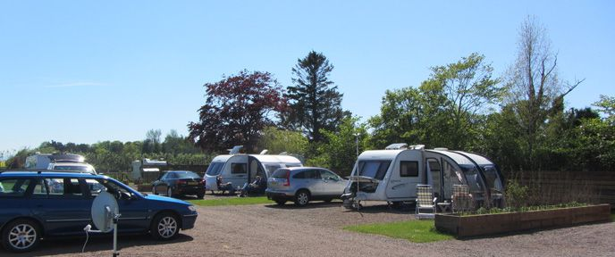 Chainbridge Touring Caravan Site, Berwick. Northumberland - Adults Only. TranquilParks.co.uk