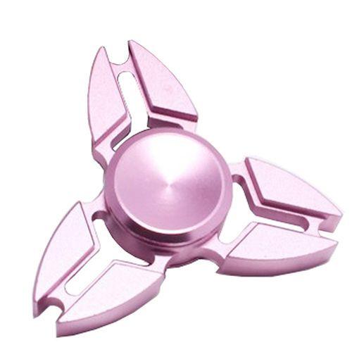 Metalwork Fidget Spinner | Fidget Hand Spinner 3 Angle Australia EDC Metal  Toy PINK