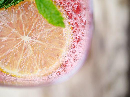 Watermelon and lime agua fresca