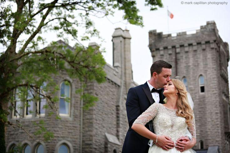 Bride & groom at Kilronan Castle wedding photographer kilronan