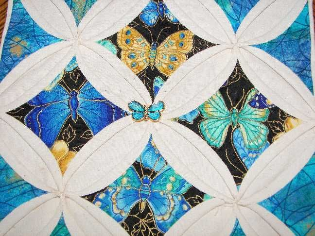 17 Best Images About Quilts Cathedral Windows On Pinterest