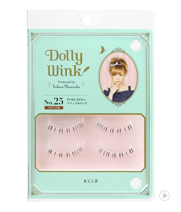 Dolly Wink Eyelash No.25 Pure Doll
