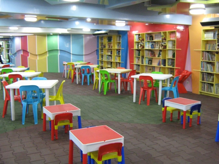 THE CHILDREN'S LIBRARY SECTION