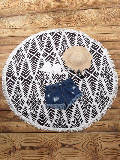 Chevron Stripe Beach Mat | Psychedelic Monk