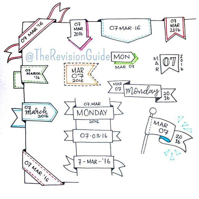 Ideas for banner dates.. #TheRevisionGuide_HowTo #TheRevisionGuide_Banners . . #study #doodle #studying #studyblr #studytime #studygram #studymotivation #studyspo #studyinspiration #studentlife #sketchnotes #visualnotes #planner #plannercommunity #mystaedtler @staetriplus @staedtlermars #visualthinking #revisionnotes #notetaking #studynotes #handletteredabcs #togetherweletter #letteritmarch #bulletjournal #bujo #bujoinspire #plannerdoodles