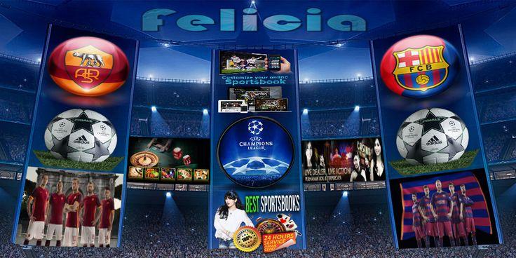 By : Felicia | AS Roma vs Barcelona | UEFA Champions League Gmail : ag.dewibet@gmail.com YM : ag.dewibet@yahoo.com Line : dewibola88 BB : 2B261360 Path : dewibola88 Wechat : dewi_bet Instagram : dewibola88 Pinterest : dewibola88 Twitter : dewibola88 WhatsApp : dewibola88 Google+ : DEWIBET BBM Channel : C002DE376 Flickr : felicia.lim Tumblr : felicia.lim Facebook : dewibola88