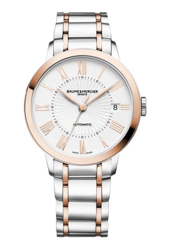 Model:Classima Lady Automatic Ref. M0A10223 Movement:Automatic Gender:Female Complications:Date, Minute Hand, Second Hand, Hour Hand Shape:Round Case Material:Steel/ Red Gold 5N Dail colour:Silver- Coloured Engraved Size:36.50 mm Material:Steel/ Red Gold 5N Price:€ 3 850 @colmanwatches