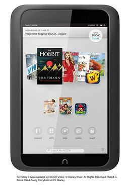 NOOK HD Smoke 8GB  I would love to have one of these. It would help greatly with college textbooks and what not.