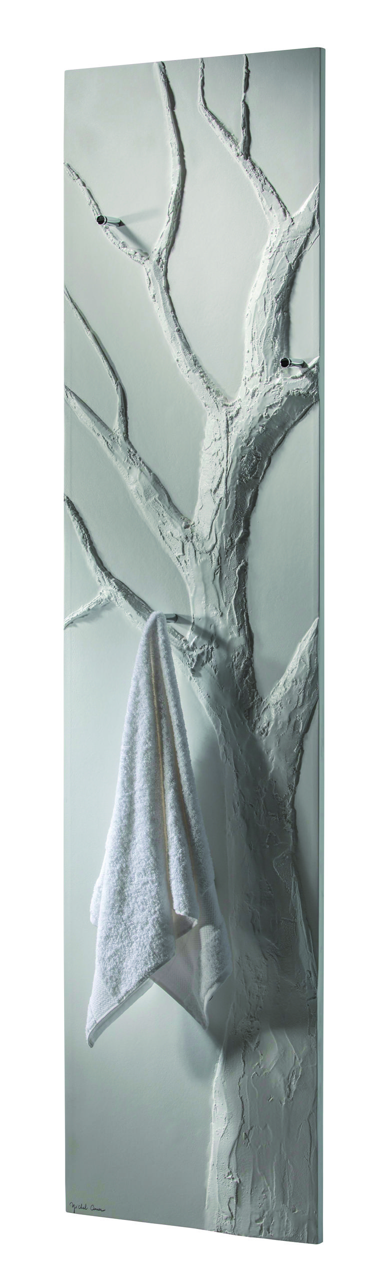 The Tree : an exclusive towel warmer for contemporary & luxury bathroom. Design by Johanne Cinier. (PSCBath)