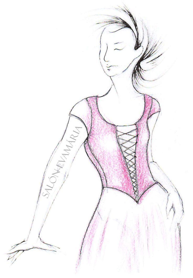 Svadobné šaty s korzetom