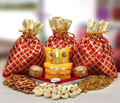 #Send this healthy #Rakhi combo to #USA via http://rakhi.giftalove.com/rakhi-to-usa-49.html