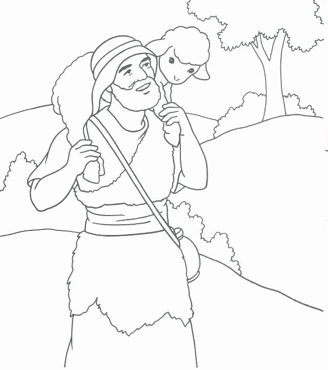 Good Shepherd Coloring Page Unique Good Shepherd Drawing At
