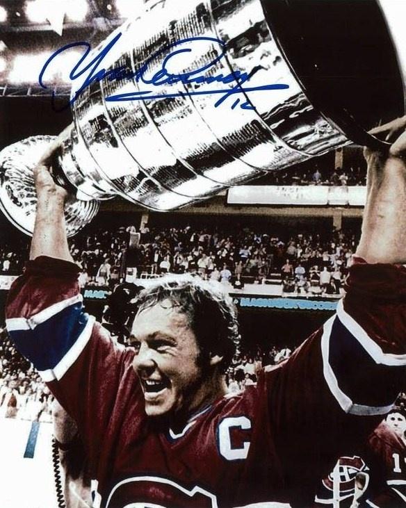 Yvan Cournoyer  1976-77: 25 buts, 28 passes - 53 points  Trophé individuel: 1 Conn Smythe.  Membre du Temple de la renommée du hockey (1982).